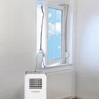 Air Lock Venster Seal Doek Plaat Afdichting Voor Mobiele Airconditioners Airconditioning Units waterdichte Soft Home Flexibele-in Air Conditioner Beschermhoes van Huis & Tuin op