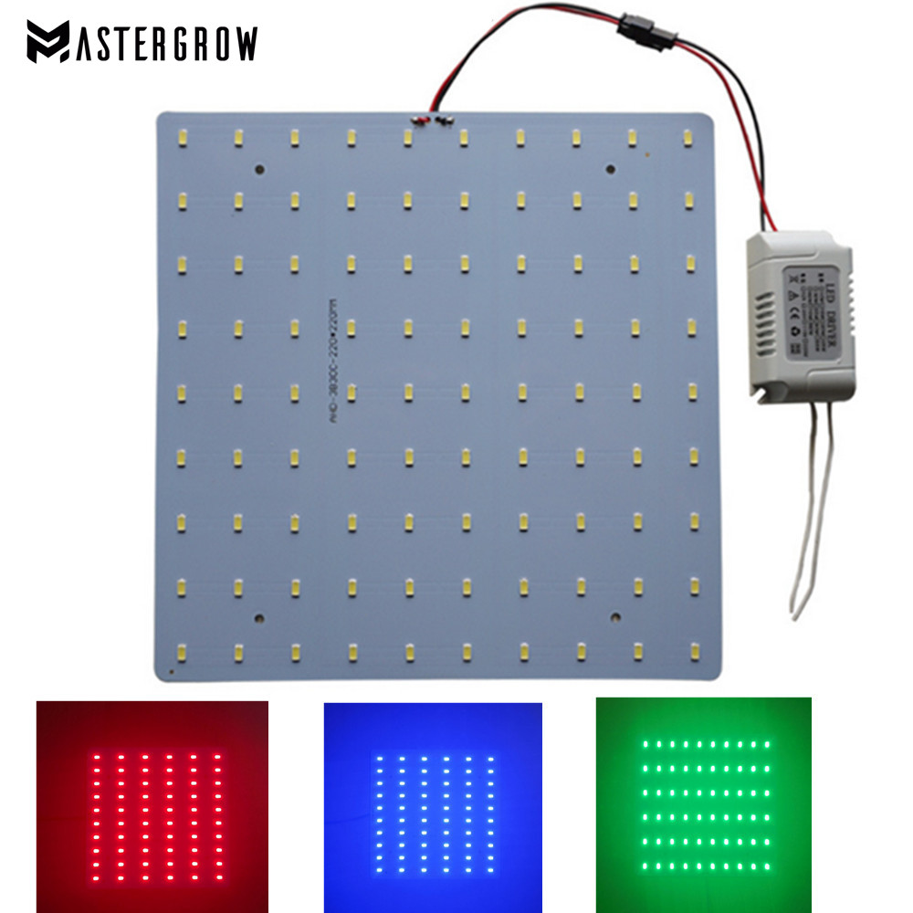 Full Spectrum 10/20/30/40/50W Led Grow Light 620NM 450NM 2700-6500K 110/220V Led Light Board For DIY Grow Light