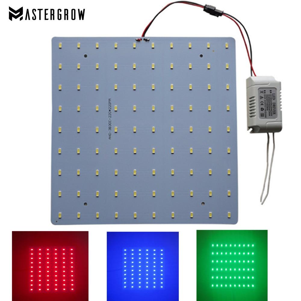 Full Spectrum 10/20/30/40/50W Led Grow Light 620NM 450NM 2700-6500K 110/220V Led Light Board For DIY Grow Light