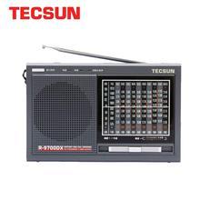 TECSUN R 9700DX Fm radyo orijinal garanti SW/MW yüksek hassasiyetli dünya Band radyo alıcısı hoparlör taşınabilir radyo