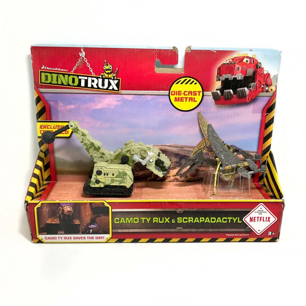 2pcs/set Dinotrux Dinosaur Truck Removable Dinosaur Toy Car Mini Models New Children's Gifts Toys Dinosaur Models Mini Child Toy