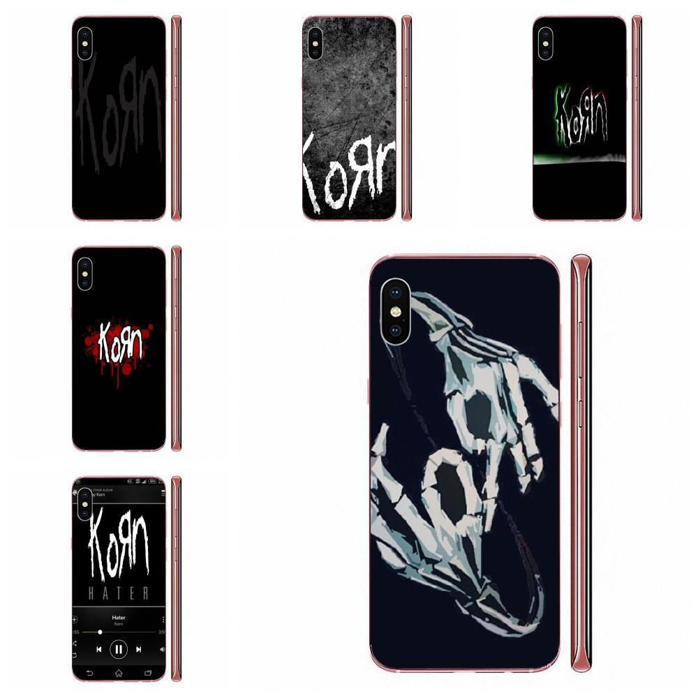 Korn Nu-metal Jonathan Davis Logo TPU Cool Best Cover Case For Apple iPhone 11 Pro X XS Max XR 4 4S 5 5C 5S SE SE2 6 6S 7 8 Plus