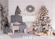 SHENGYONGBAO Vinyl Custom Photography Backdrops Prop Christmas day Christmas Tree Theme Photo Studio Background ST-18 sjoloon christmas photography backdrops christmas tree photographic background snow photo backdrop fond photo studio vinyl props