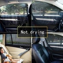 Car Sun Shade UV Protection Window Sunshade Side Mesh Visor Summer Magnetic Curtain Film