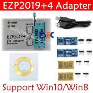Image 3 - Juego completo EZP2019, programador USB SPI de alta velocidad + adaptador SOP8 de 12, clip de prueba, sop8/16, 1,8 V, adaptador de enchufe flash aux 24 25 EEPROM