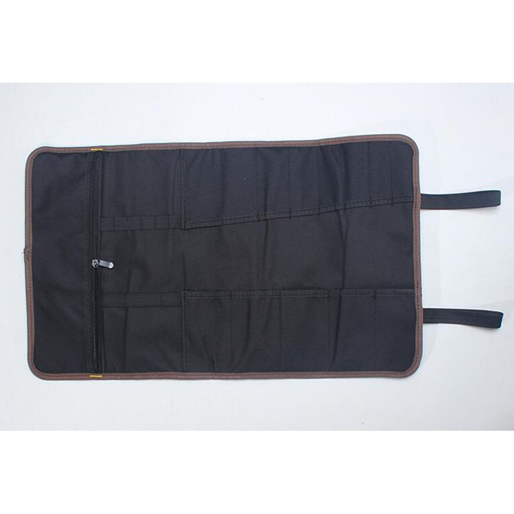 22 Pockets Hardware Tool Roll Pliers Screwdriver Spanner Carry Case Pouch Bag Rolled Up Portable Hardware Holder Oxford Cloth