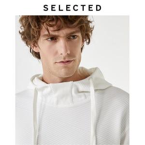 Image 4 - 選択された男性の秋質感純粋な色パーカs