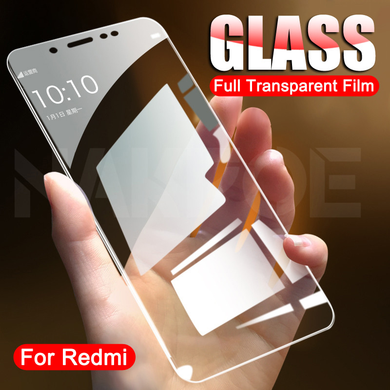 Protective Glass on the For Xiaomi Redmi 5 Plus 5A K20 K30 S2 Tempered Screen Protector Redmi 6 6A Note 6 5 5A Pro Glass Film(China)