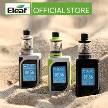 [RU/ES] مجموعة Eleaf iStick Kiya الأصلية مع GS Juni بنيت في 1600mAh VS iStick Tria 0.75/1.5ohm GS لفائف الهواء السجائر الإلكترونية