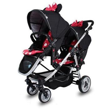 twin baby stroller for second baby twins baby pram strolelr 3 in 1 can sear can lay