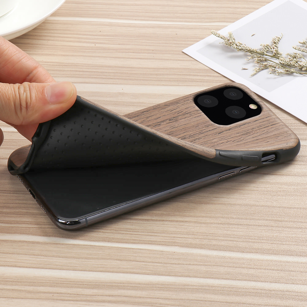 He7b599bea4c143269d27d7d92a7c105fd LAPOPNUT Case for Iphone 11 Pro Xs Max Xr X 7 8 Plus 6 6s 5 5s SE Apple Wood Grain Flexible TPU Silicone Hybrid Slim Cover Coque