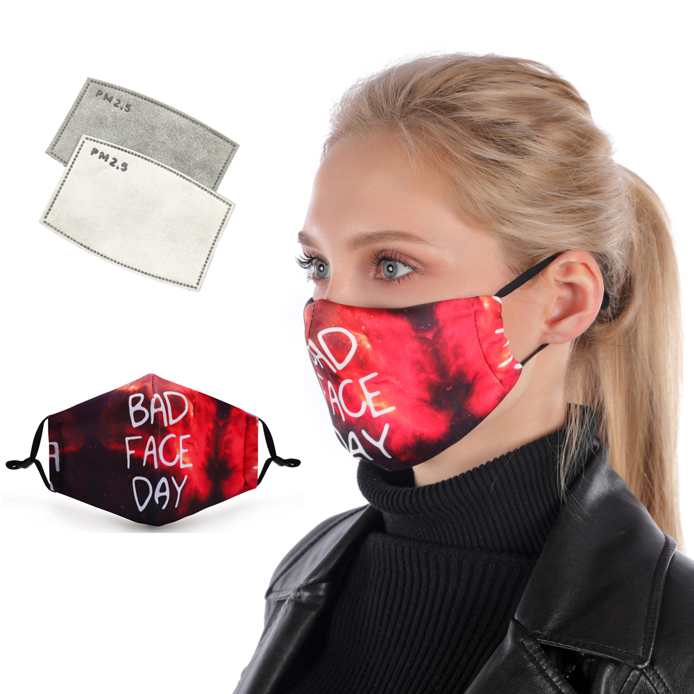 Модная многоразовая защитная маска для рта PM2.5, Пылезащитная маска для лица, Ветрозащитная маска для рта, защита от бактерий, маска для гриппа|Женские маски|Аксессуары для одежды - AliExpress