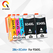 CMYK SUPPLIES 5 PCS For Hp 934 935 XL Compatible Ink Cartridge HP Officejet Pro 6230/6830/6835/6812/6815/6820 Printer