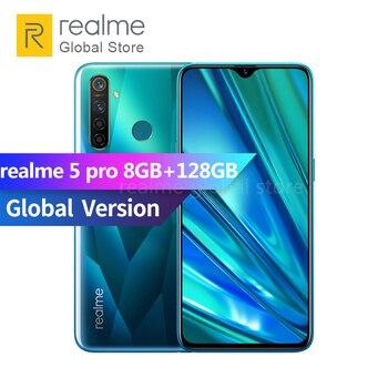 Global version realme 5 pro 8GB RAM 128GB ROM Snapdragon 712 AIE Octa Core 6.3 inch 4035mAh 48MP AI Quad Camera 1