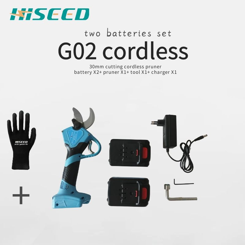 G02 Cordless Electric Scissors Pruning Shears Spare Parts, Battery, Charger, Blade,