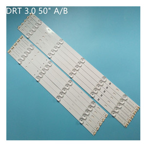 Image 2 - 10 pieces/kit LED strips for L G 50 inch TV 50LB582V ZG 50LB5610 ZC 50LB580V ZM 50LB580U ZM 50LB5700 ZB 50LB5700 ZK T500HVF05.0