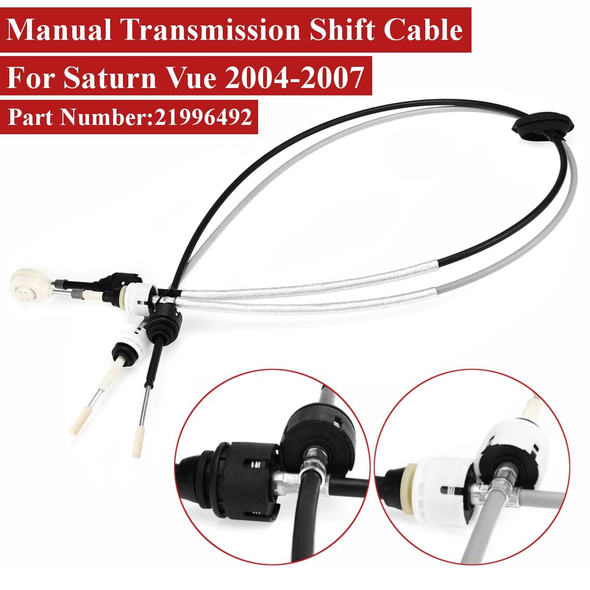 saturn transmission parts diagram 21996492 manual transmission shift cable for saturn vue 2004 2005  manual transmission shift cable