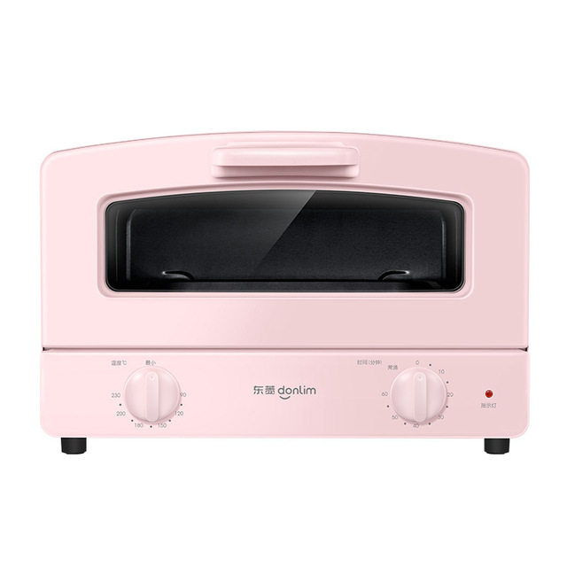 Donlim Electric Oven 12L Fully Automatic Mini Pizza Oven Household Kitchen Appliances Electric Toaster Oven Tart Timing Baking 6