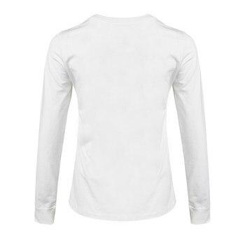 Original New Arrival NIKE W NSW TEE ESSNTL LS LBR Women's T-shirts shirt Long sleeve Sportswear 2