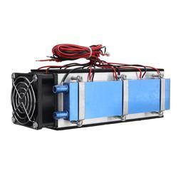 Nuevo radiador de refrigeración de Semiconductor electrónico DIY de 12V 576W 8 Chip para aire acondicionado Kit de sistema de refrigeración termoeléctrica