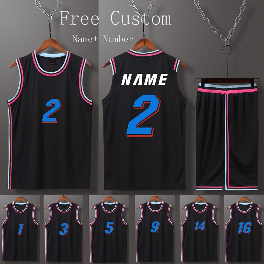 Men & boys Free Custom Jerseys Basketball Kit Shorts With side pocket, Youth College throwback basketball uniform Clothing Suit