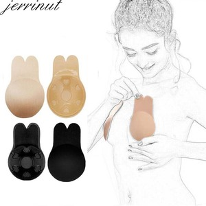 Jerrinut Dropshipping VIP Push up Strapless Bra Silicone Invisible Bra Bras For Women Sexy Silicone Sticky Bralette