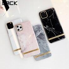La falta de oro brillante de Bar textura mármol teléfono caso para iphone 11 casos para iphone X XR XS 11Pro Max 7 7 6 6S Plus suave INS cubierta