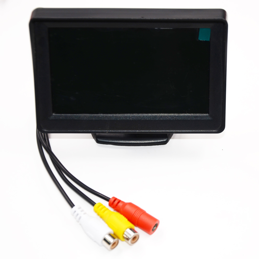 Car Monitor 4 3inch Screen For Rear View Reverse Camera TFT LCD Display HD Digital Color 4 3 Inch PAL NTSC