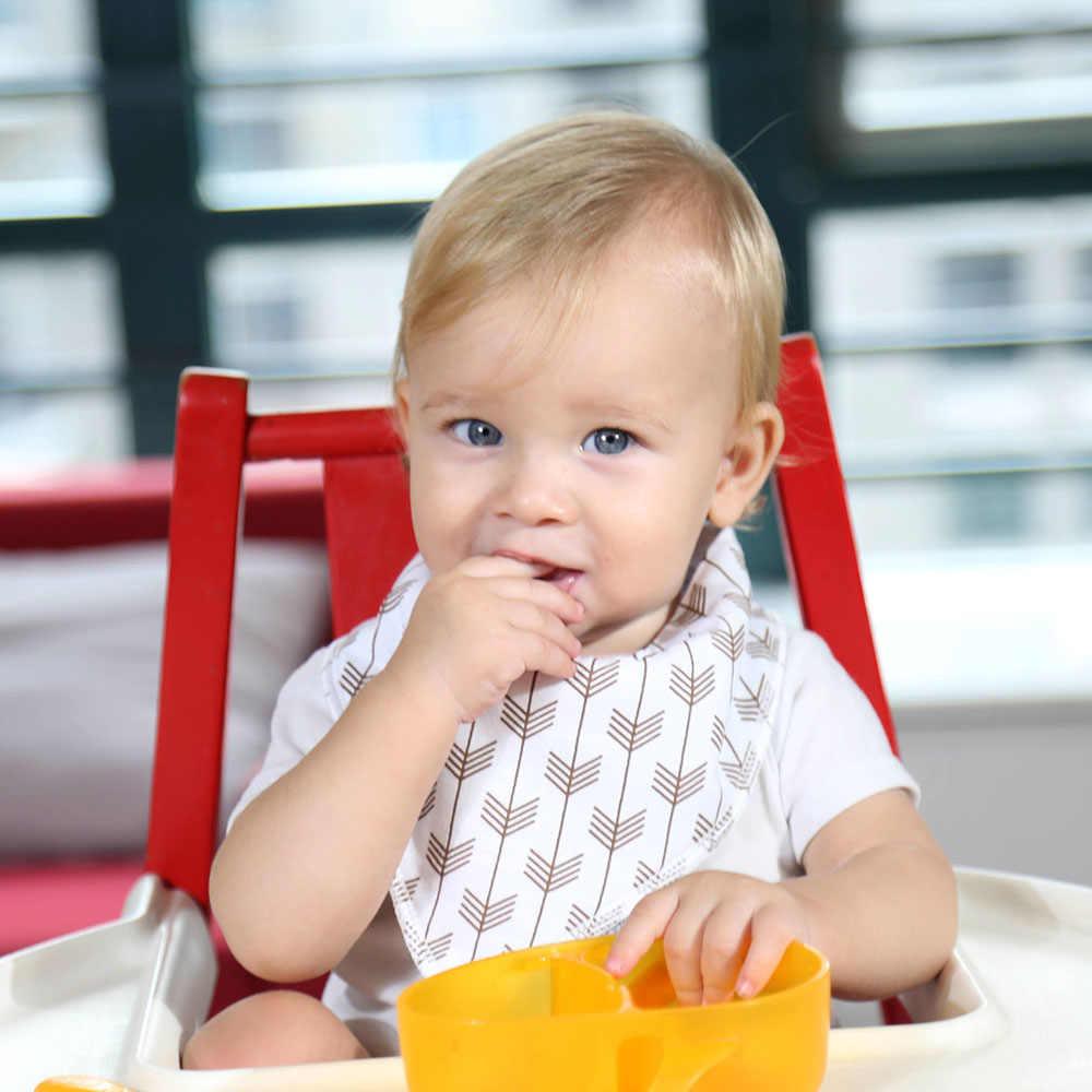 6 Pack Bibs 100% bawełna organiczna śliniaki dla niemowląt dla chłopców i dziewcząt moda śliniaki dla niemowląt z regulowanymi zatrzaskami noworodek śliniaczek