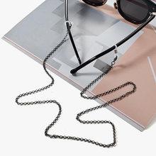 Модная металлическая цепочка для очков очки на веревке однотонный