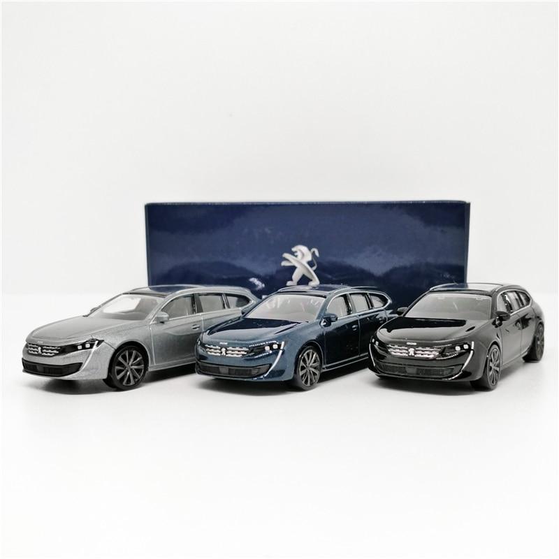 Norev 1:64 Peugeot 508 SW 2018 Blue Diecast Model Car