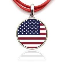 1 шт модные подвески с американским флагом ожерелье для выборов