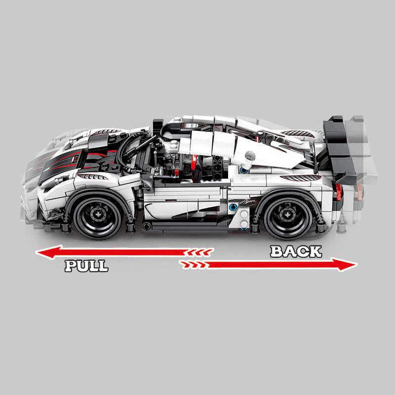 728Pcs Koenigsegged Super Auto Da Corsa blocchi di costruzione Technic Sport Racer Veicolo Supercar Dei Capretti Dei Bambini Velocità Mattoni Giocattoli Regali