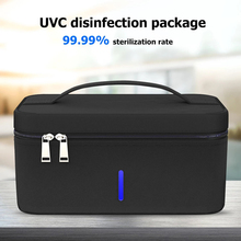 Nails UV Light Sterlizer Box Jewelry Box Portable Multifunction Underwear Disinfection Makeup Mobile Phone Sterilizer Mask Clean