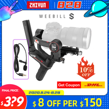 Zhiyun Weebill S / Weebill Lab 3 Axis Gimbal Camera Stabilizer for Sony A7M3 A6500 Panasonic GH4 GH5 DSLR VS Ronin Sc Crane 2