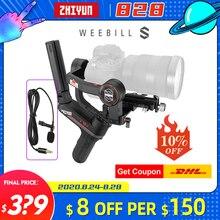 Zhiyun Weebill S / Weebill Phòng 3 Trục Gimbal Ổn Định Camera Cho Sony A7M3 A6500 Panasonic GH4 GH5 DSLR VS Ronin Sc Crane 2
