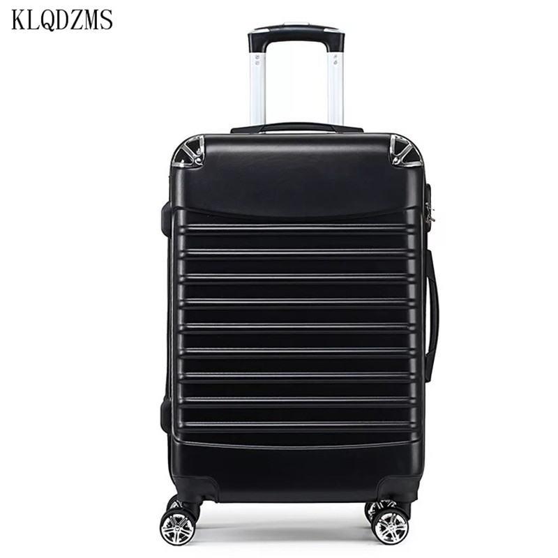 KLQDZMS  24Inch Trolley Case Woman Travel Suitcase With Wheels Rolling  Luggage Man 20 Inch Boarding Box Travel Bags
