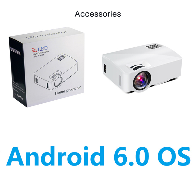CRENOVA A8 Projector 800x480 Android 6