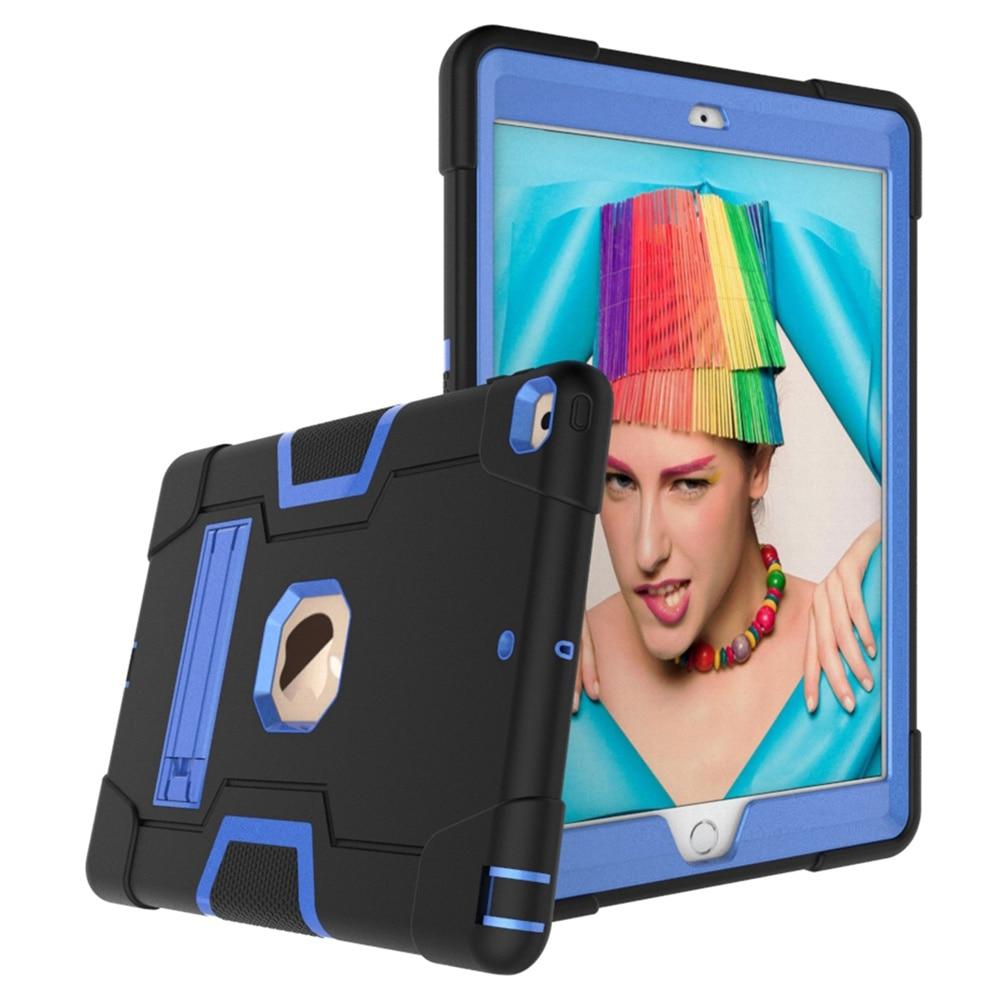 Black - Blue Blue For iPad 10 2 2019 7th Gen A2197 A2198 A2200 A2232 Case Shockproof Kids Safe PC