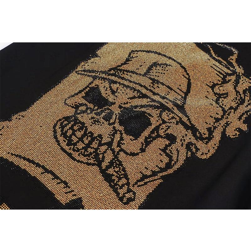 Starbags pp manches T shirt populaire pour les hommes en or estampage impression de rue en vrac simple décontracté demi manches T shirt - 4