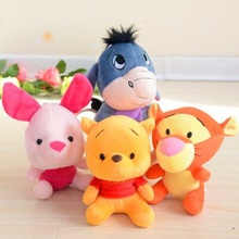 Disney Winnie the Pooh Mickey and Minnie the Tigger Plush toy plush disney cute plush toy doll moving doll toy children's gift