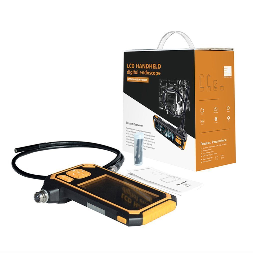 Inskam LCD 4.3 Inch Screen Handheld Digital Inspection Endoscope Monitor ND
