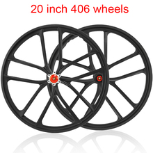Brake-Wheel Bicycle-Disc-Brake Mountain-Bike-Disc Magnesium-Alloy 20inch 406 Cassette