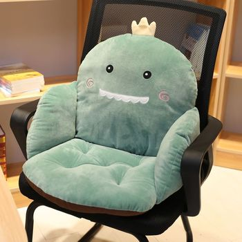 Lanke Cartoon Chair Cushion  Lumbar Back Support 1