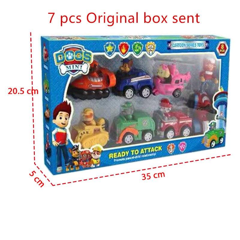 7 pcs original box
