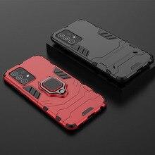 Custodia per cavalletto per Samsung Galaxy A52 5G A51 A50 A50S armatura antiurto anello Hybird Cover per Samsung A52 custodia