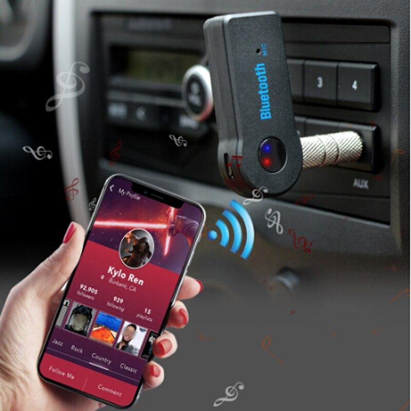 3,5 мм разъем Bluetooth AUX мини аудио приемник для corolla 2011 kia sportage 4 2017 renault kadjar polo gti bmw e60 audi q5