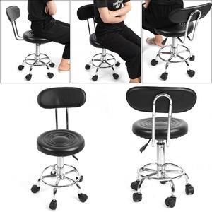 Image 2 - Adjustable Salon Hairdressing Styling Chair Barber Massage Studio Tools Adjustable Barber Chairs Massage Salon Furniture