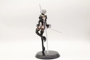 Image 4 - New Japan Anime Action Figure Game Nier:automata 2b YoRHa No.2 Type B Black Dress Sword Ver PVC 25CM Model Sexy Decoration Doll