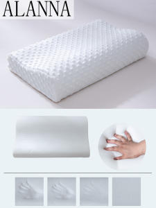 Alanna Pillow Foam-Bedding 01memory Neck-Protection Shaped for 50--30cm Slow-Rebound